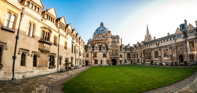 Oxford - Radcliffe Camera from Brasenose